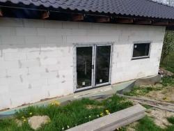 Novostavba RD Libhošť, okr. Nový Jičín - plastové okna, balkonové dveře