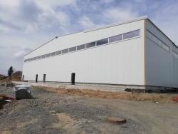 Výrobní hala Vítkov - plastové okna